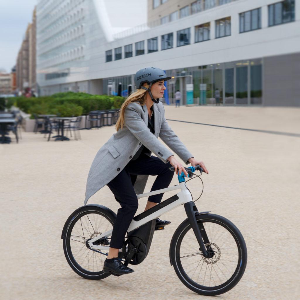 Vélo électrique Iweech blanc