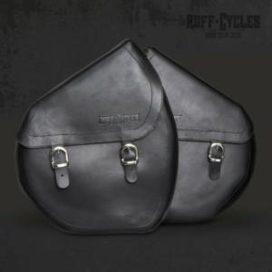 paire de sacoches cuir pour ruffian