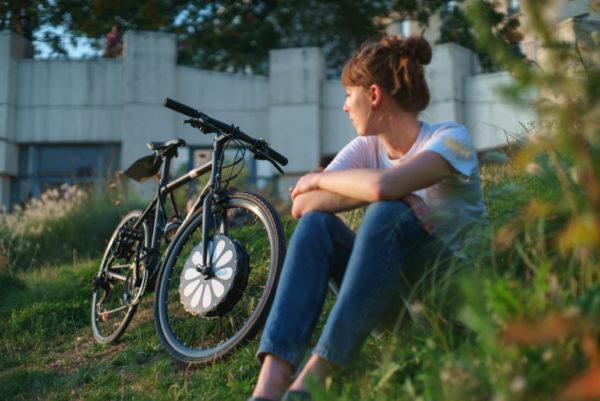 la roue électrique de vélo teebike