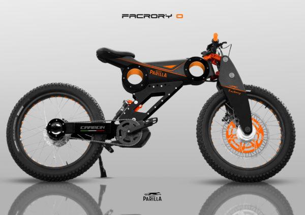 velo electrique modele factory orange
