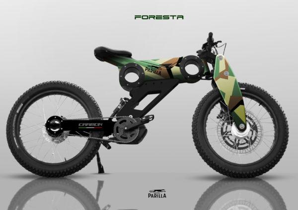 velo electrique modèle foresta moto parilla
