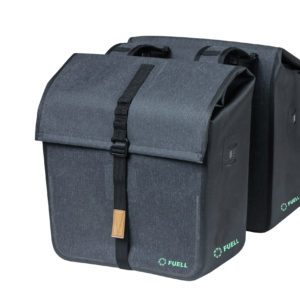 sacoche double bagages pour vélo fuell